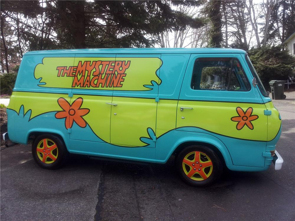 1965 Ford Econoline Custom Van 132900
