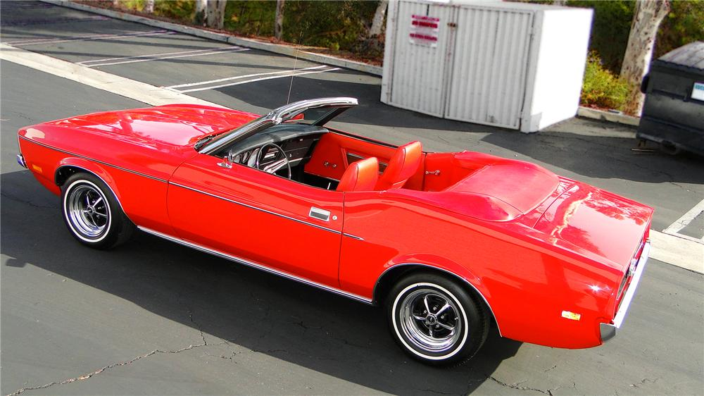 1972 FORD MUSTANG CONVERTIBLE - Front 3/4 - 132904