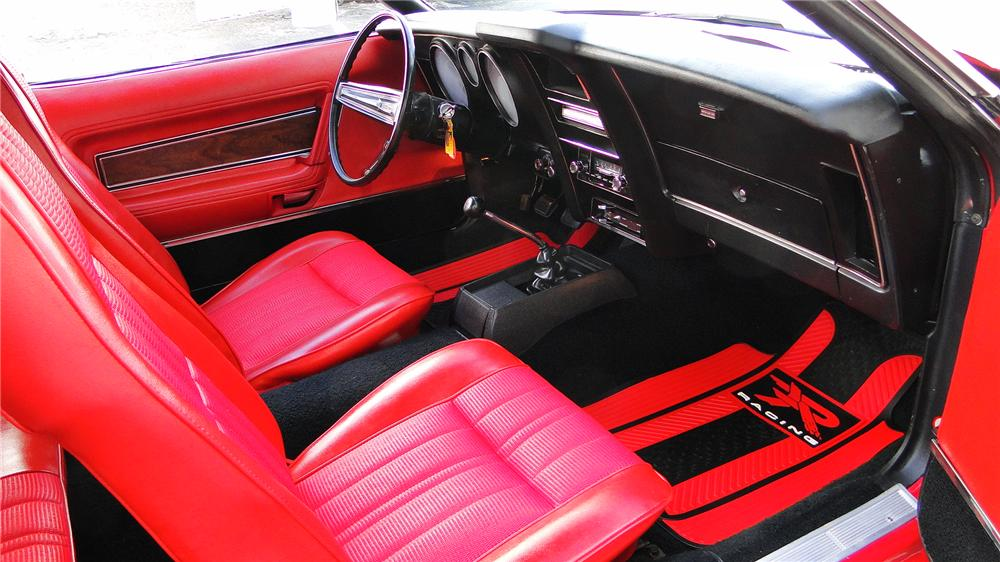 1972 FORD MUSTANG CONVERTIBLE - Interior - 132904