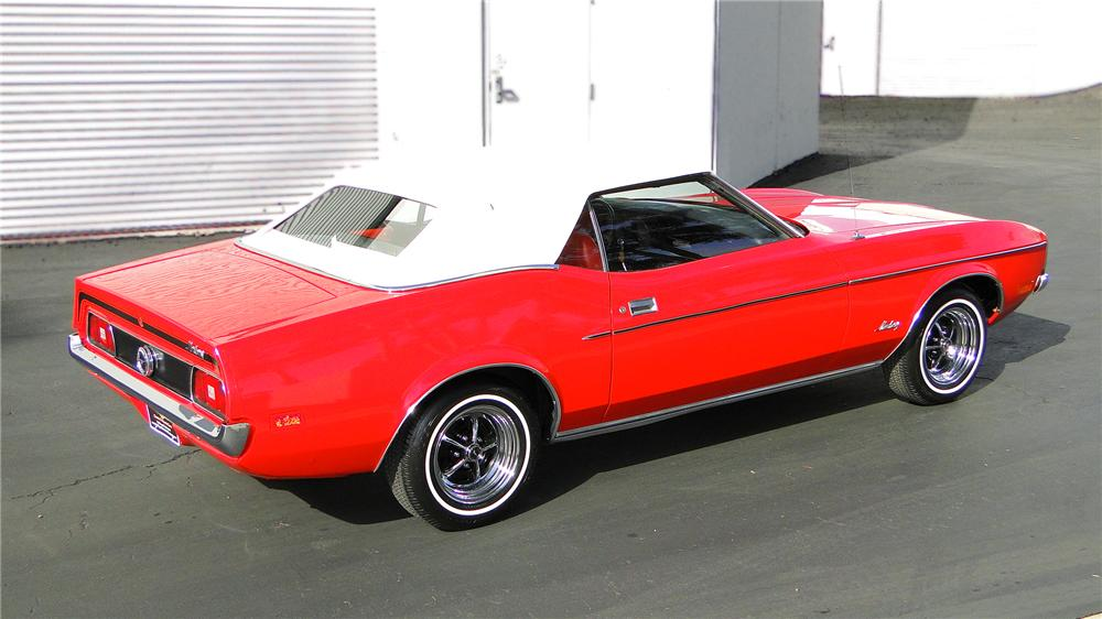 1972 Ford Mustang Convertible Value