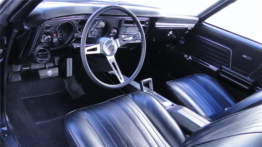 1969 CHEVROLET CHEVELLE SS 396 2 DOOR COUPE - Interior - 132910