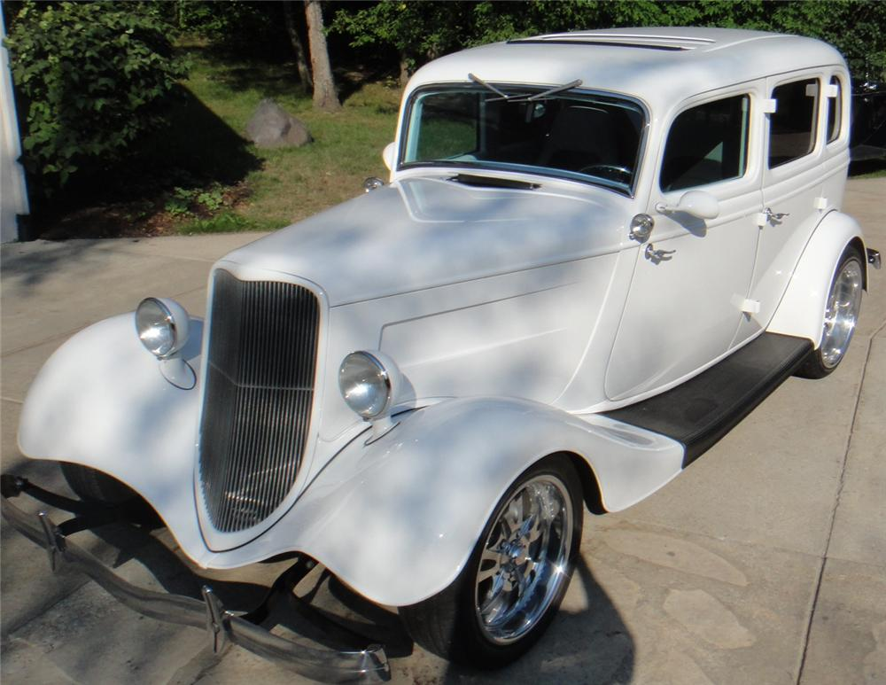 1934 Ford Fordor Deluxe Custom