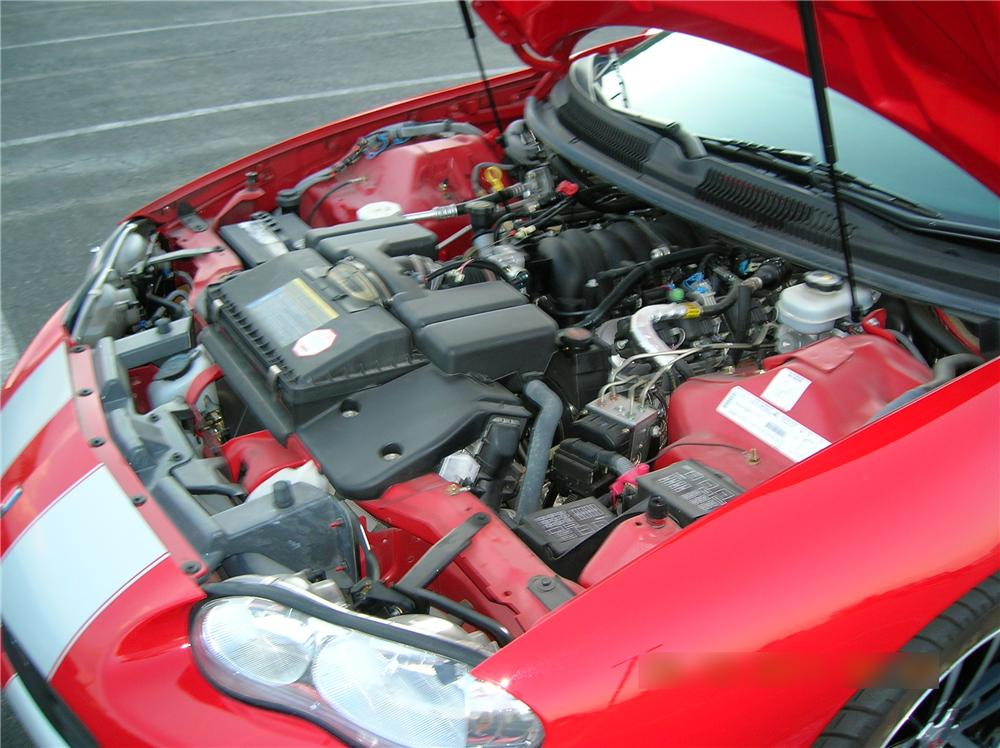 2002 CHEVROLET CAMARO Z/28 SS CONVERTIBLE - Engine - 132915