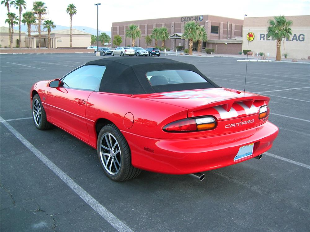 2002 CHEVROLET CAMARO Z/28 SS CONVERTIBLE - Rear 3/4 - 132915