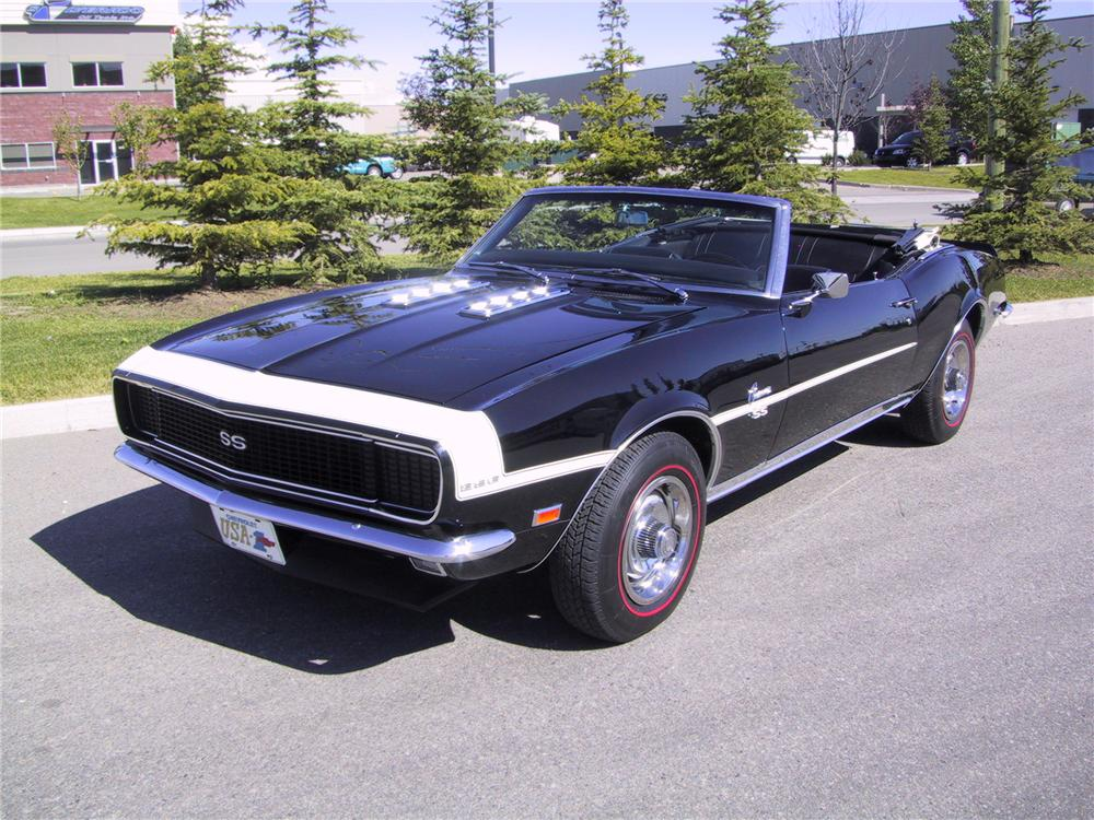 1968 CHEVROLET CAMARO RS/SS CONVERTIBLE - 132927