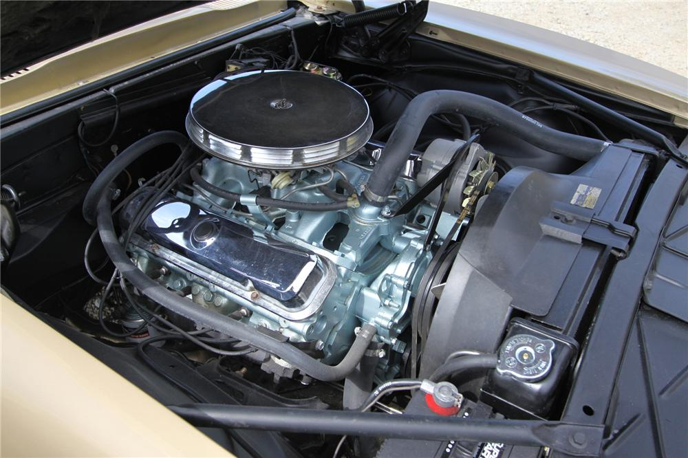 1967 PONTIAC FIREBIRD CONVERTIBLE - Engine - 132932