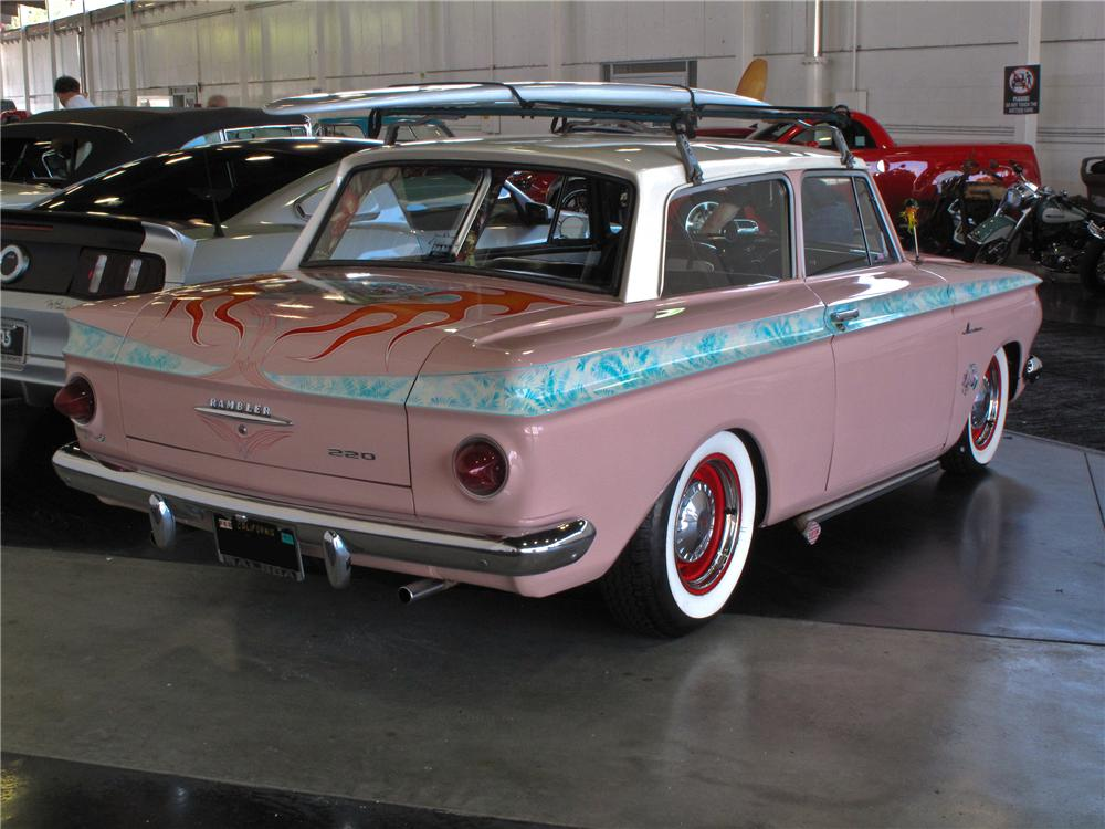 1963 AMC RAMBLER AMERICAN CUSTOM 2 DOOR COUPE - Rear 3/4 - 132933