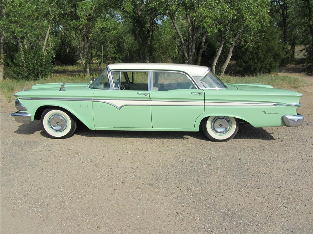 1959 EDSEL RANGER 4 DOOR SEDAN - Side Profile - 132934