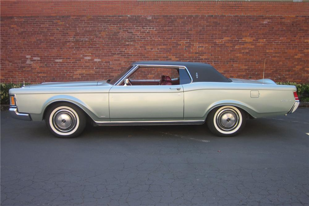 1970 LINCOLN CONTINENTAL MARK III 2 DOOR HARDTOP - Side Profile - 132937