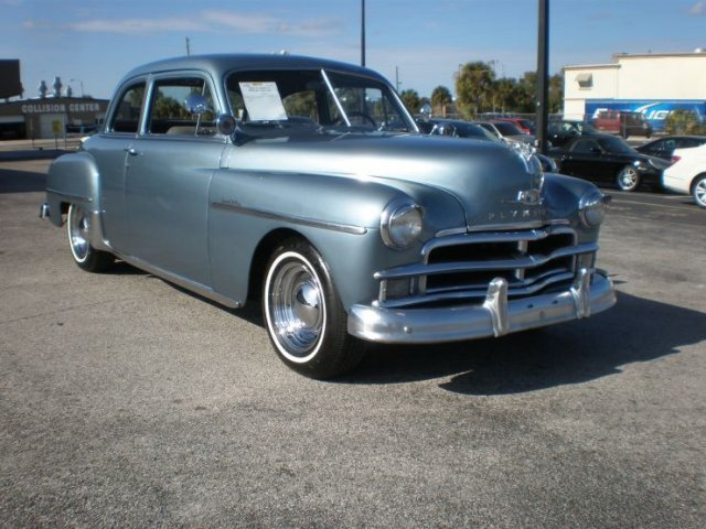 1950 PLYMOUTH SPECIAL DELUXE 2 DOOR COUPE - Front 3/4 - 132939
