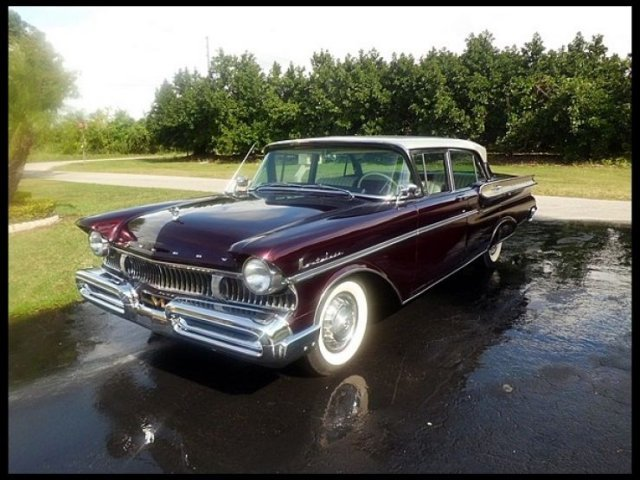 1957 MERCURY MONTCLAIR 4 DOOR SEDAN - Front 3/4 - 132940