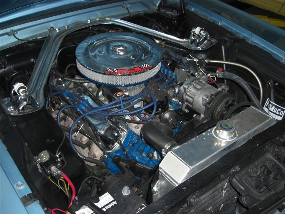 1966 FORD MUSTANG GT 2 DOOR COUPE - Engine - 132943