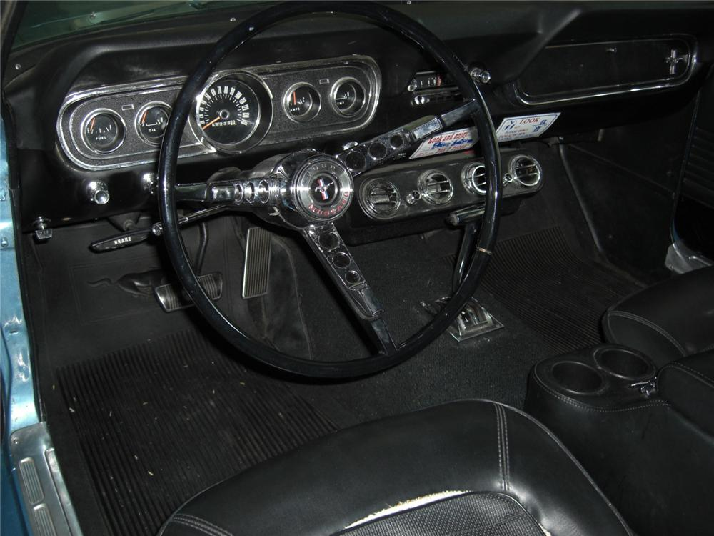 1966 FORD MUSTANG GT 2 DOOR COUPE - Interior - 132943