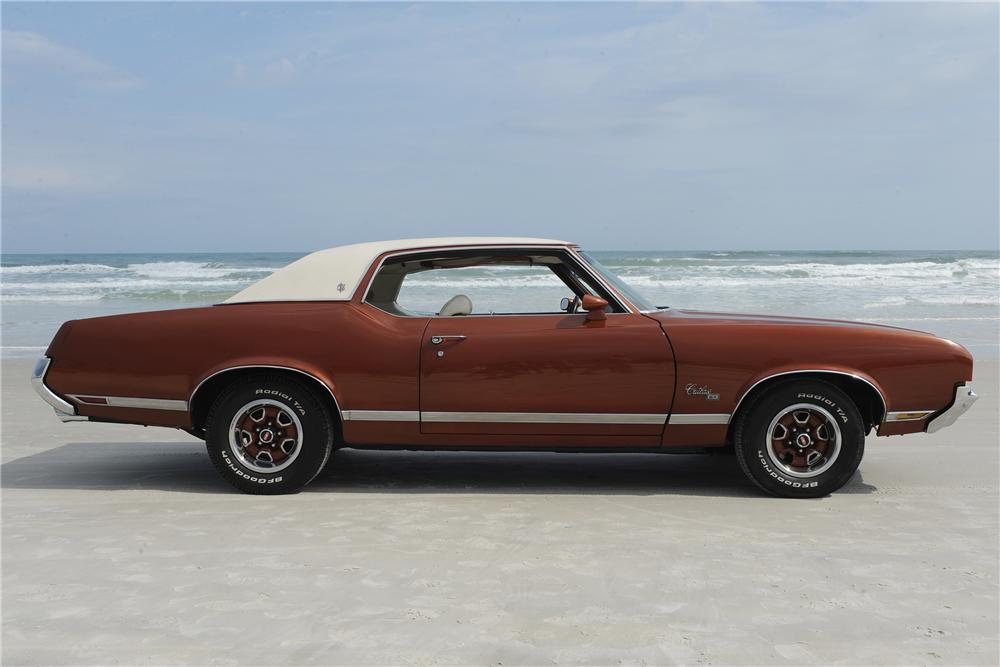 1971 OLDSMOBILE CUTLASS S/X 2 DOOR COUPE - Side Profile - 132958