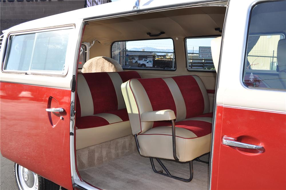 1978 VOLKSWAGEN TRANSPORTER CUSTOM BUS - Interior - 132961