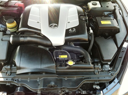 2005 LEXUS SC430 CONVERTIBLE - Engine - 132962