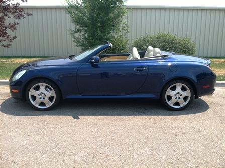 2005 LEXUS SC430 CONVERTIBLE - Side Profile - 132962