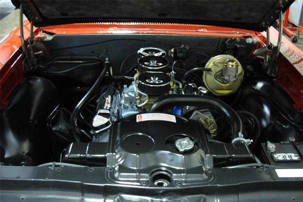 1966 PONTIAC GTO CONVERTIBLE - Engine - 132966