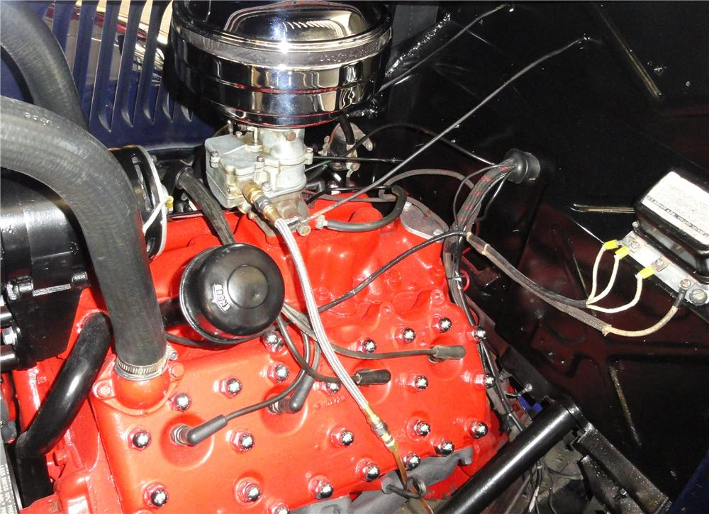 1951 FORD F-3 STAKEBED PICKUP - Engine - 132972