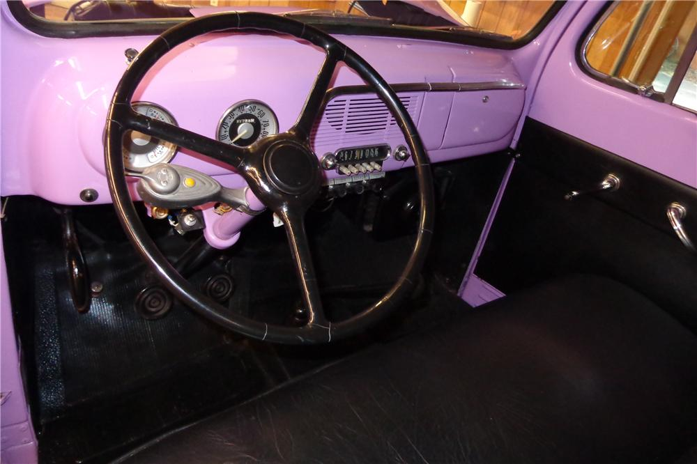 1951 FORD F-3 STAKEBED PICKUP - Interior - 132972