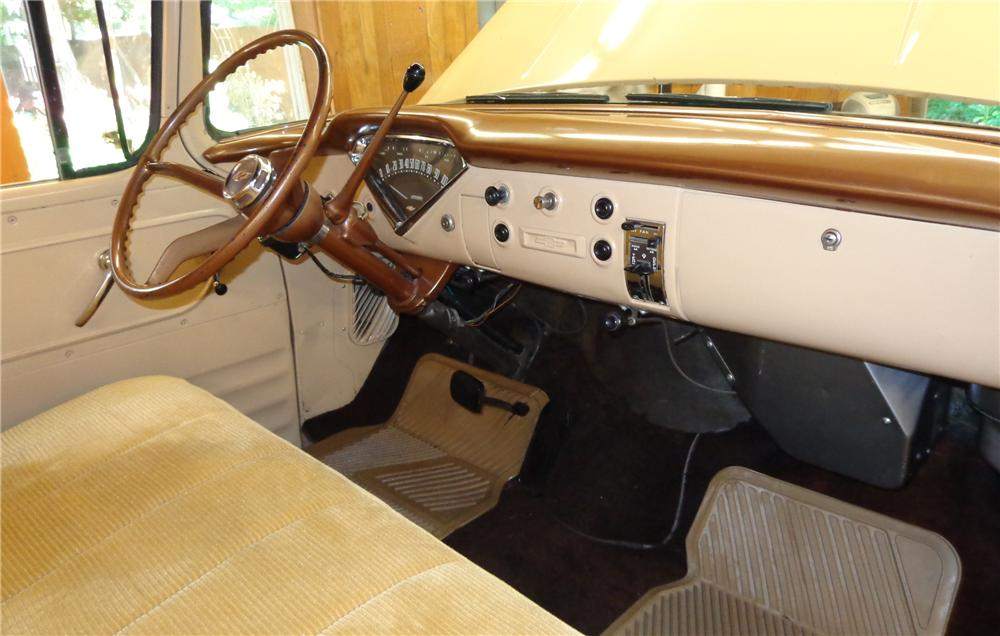 1957 CHEVROLET 3100 STEPSIDE PICKUP - Interior - 132976