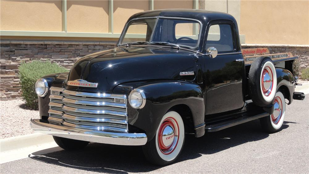 1947 CHEVROLET 3100 PICKUP - Front 3/4 - 132977