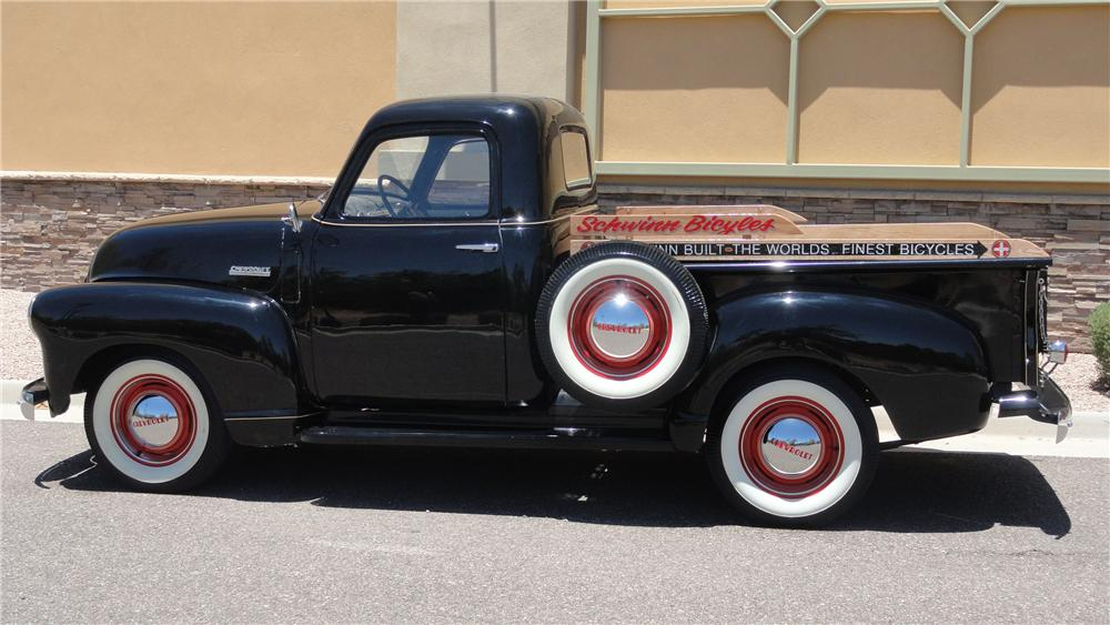 1947 CHEVROLET 3100 PICKUP - Side Profile - 132977