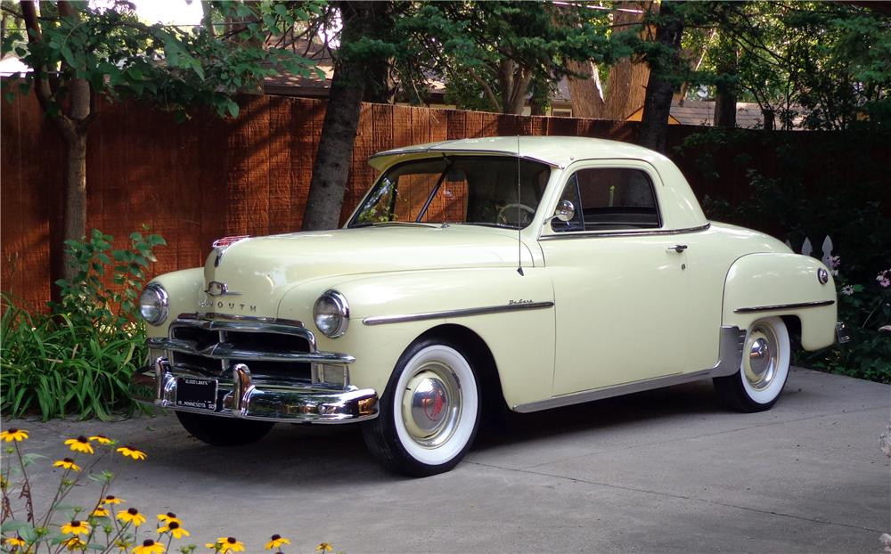 1950 Plymouth Deluxe 3 Window Coupe 132981