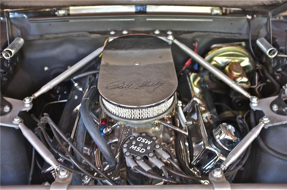 1967 FORD MUSTANG CUSTOM CONVERTIBLE - Engine - 132982
