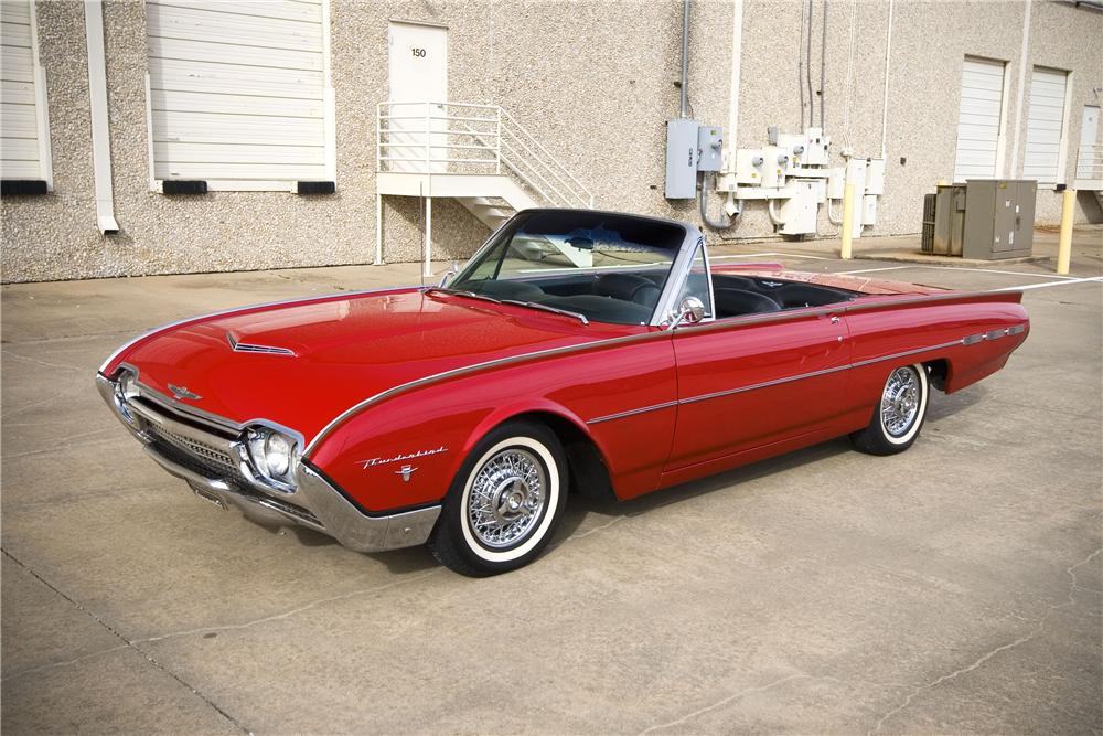 1962 ford thunderbird roadster 133002. Cars Review. Best American Auto & Cars Review