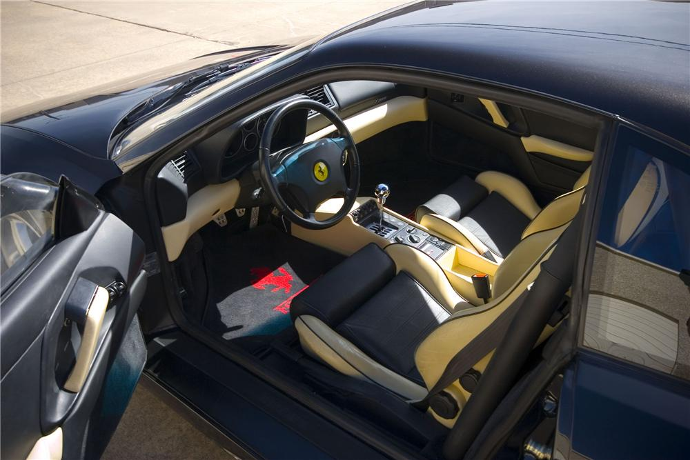 1999 FERRARI 355 BERLINETTA COUPE - Interior - 133003