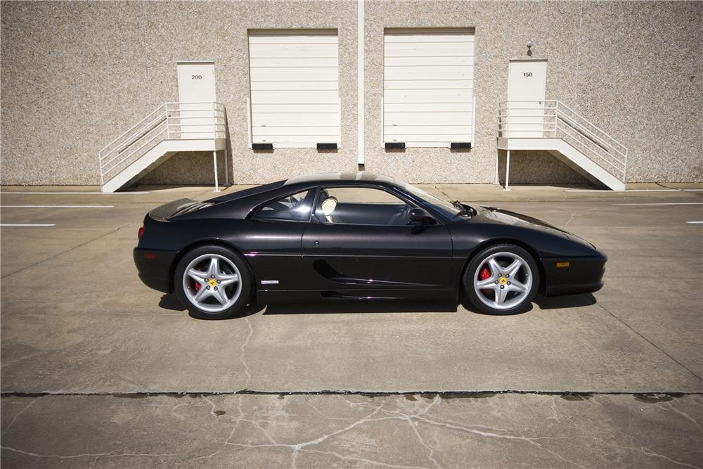 1999 FERRARI 355 BERLINETTA COUPE - Side Profile - 133003
