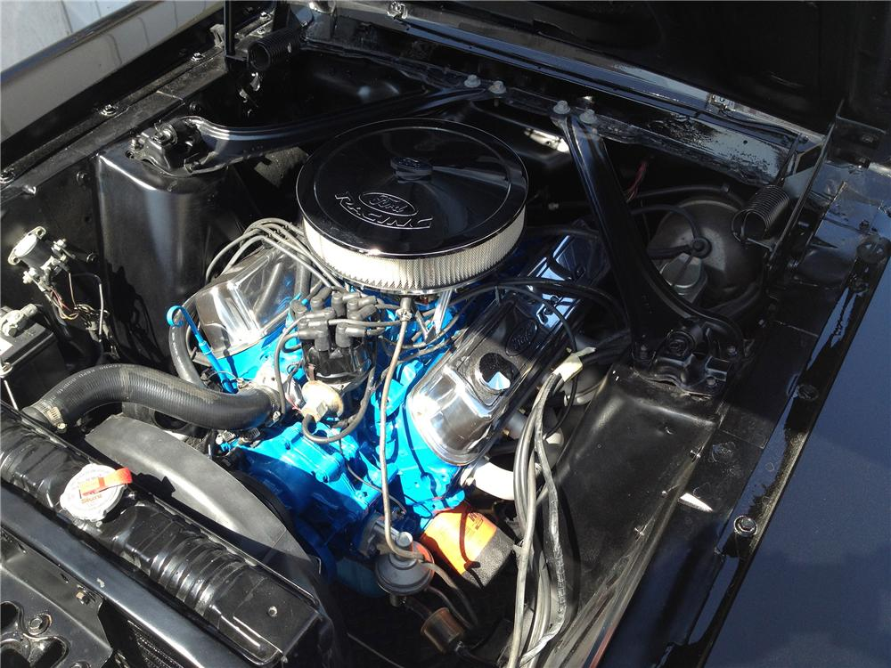 1967 MERCURY COUGAR 2 DOOR HARDTOP - Engine - 133008