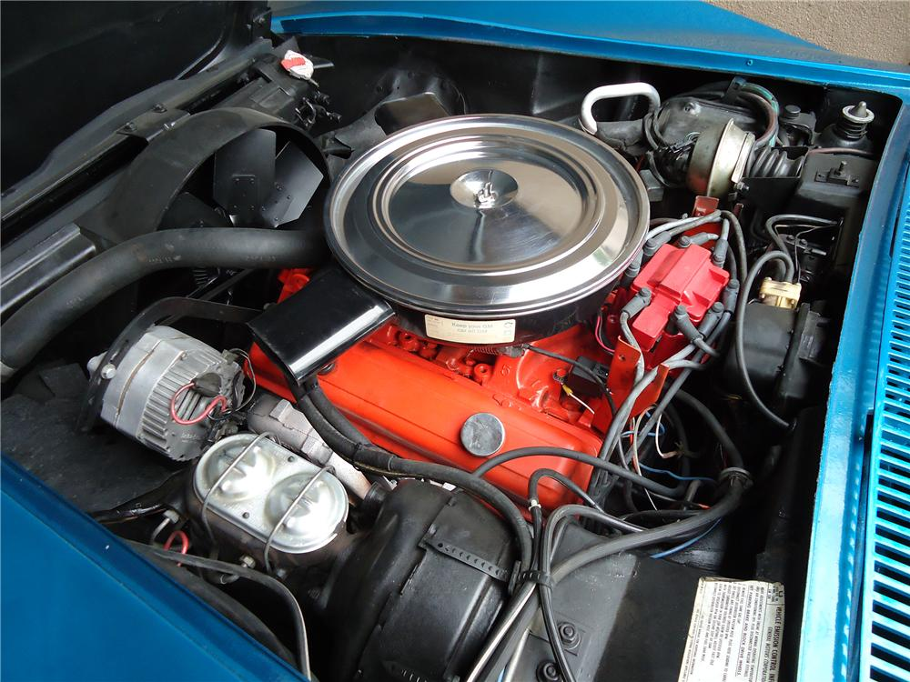 1972 CHEVROLET CORVETTE 2 DOOR COUPE - Engine - 133009
