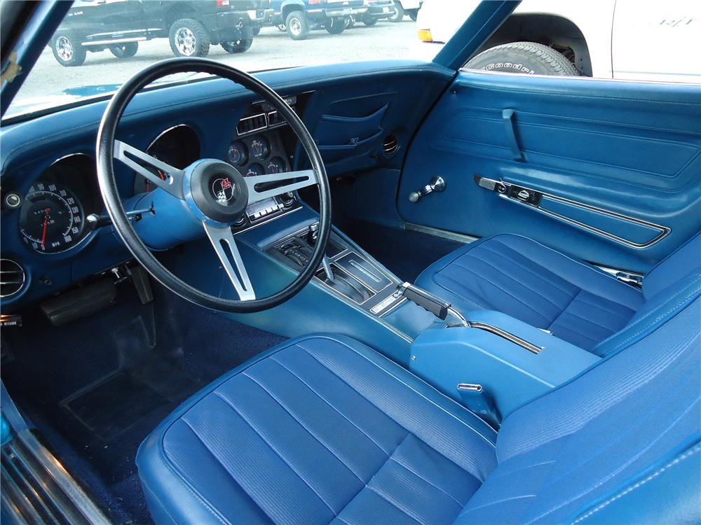 1972 CHEVROLET CORVETTE 2 DOOR COUPE - Interior - 133009