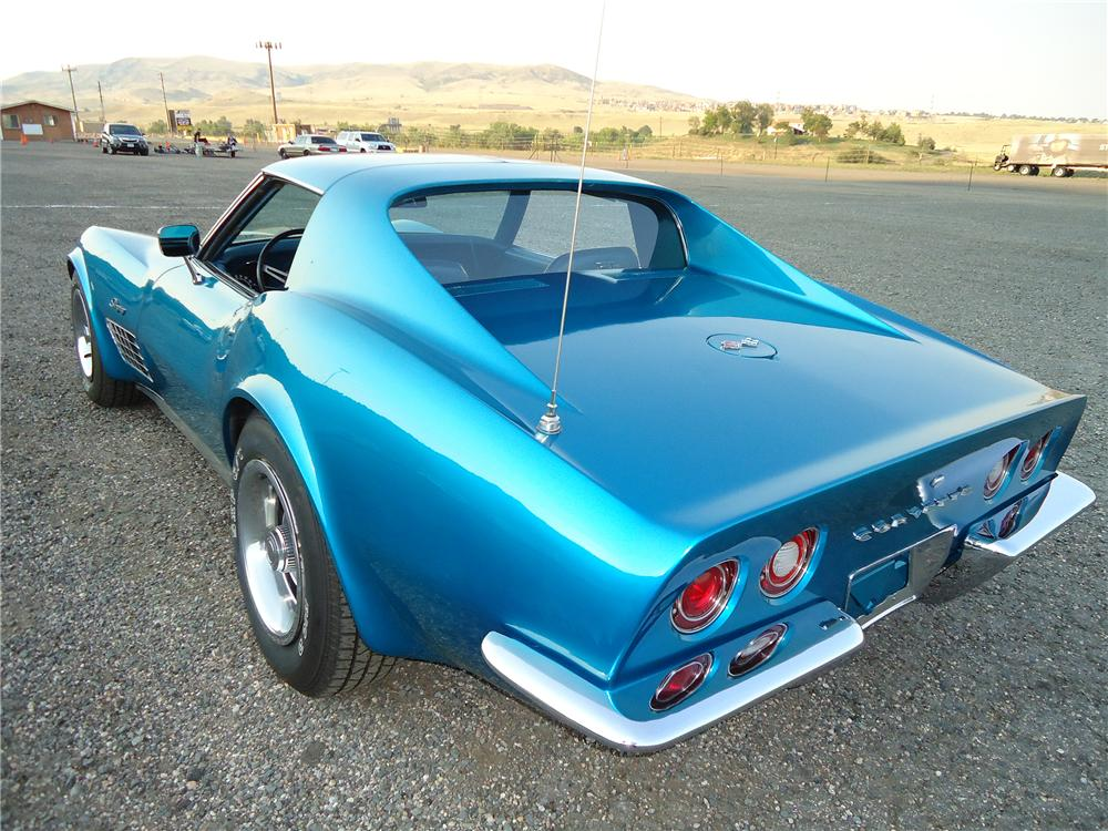 1972 CHEVROLET CORVETTE 2 DOOR COUPE - Rear 3/4 - 133009