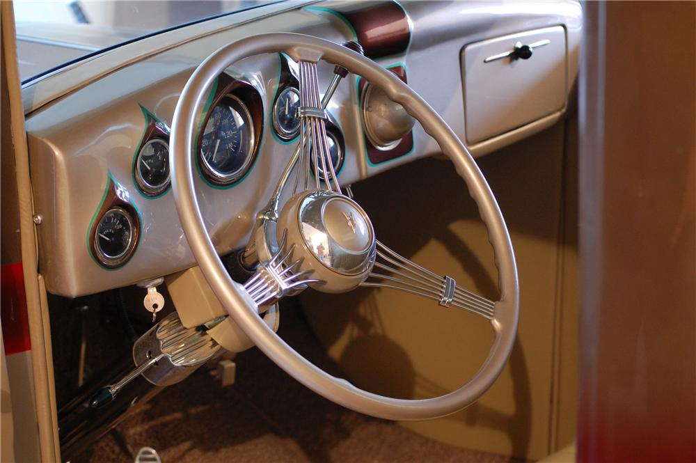 1933 FORD CUSTOM PICKUP - Interior - 133013