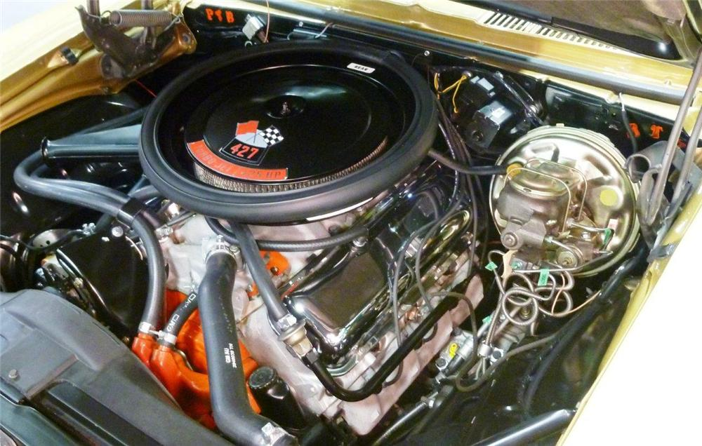 1969 CHEVROLET CAMARO COPO RE-CREATION - Engine - 133015