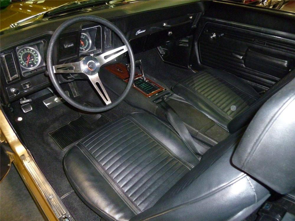 1969 CHEVROLET CAMARO COPO RE-CREATION - Interior - 133015