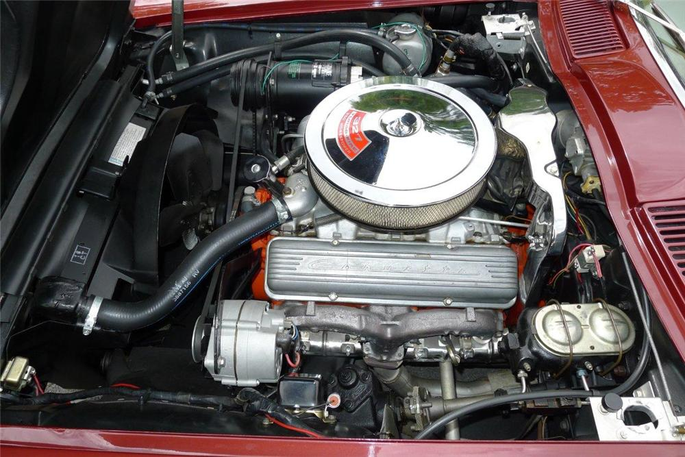 1967 CHEVROLET CORVETTE CONVERTIBLE - Engine - 133016