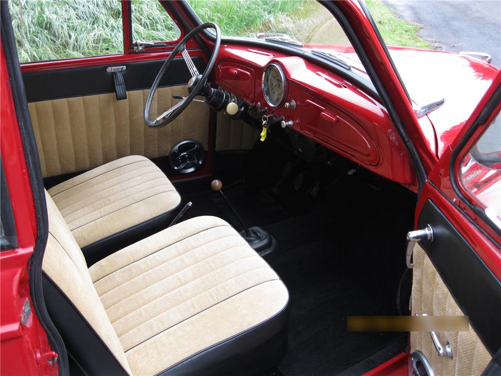1959 MORRIS MINOR 2 DOOR COUPE - Interior - 133029