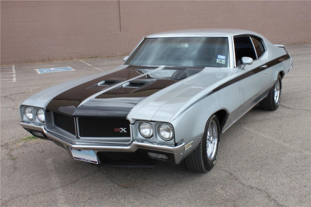 1972 BUICK SKYLARK CUSTOM 2 DOOR COUPE - Front 3/4 - 133034