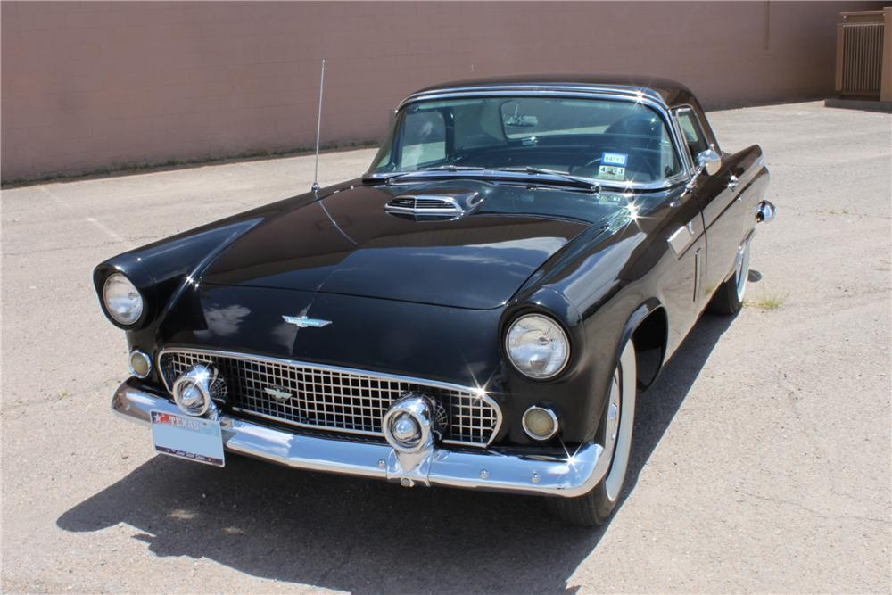 1956 FORD THUNDERBIRD CONVERTIBLE - Front 3/4 - 133038