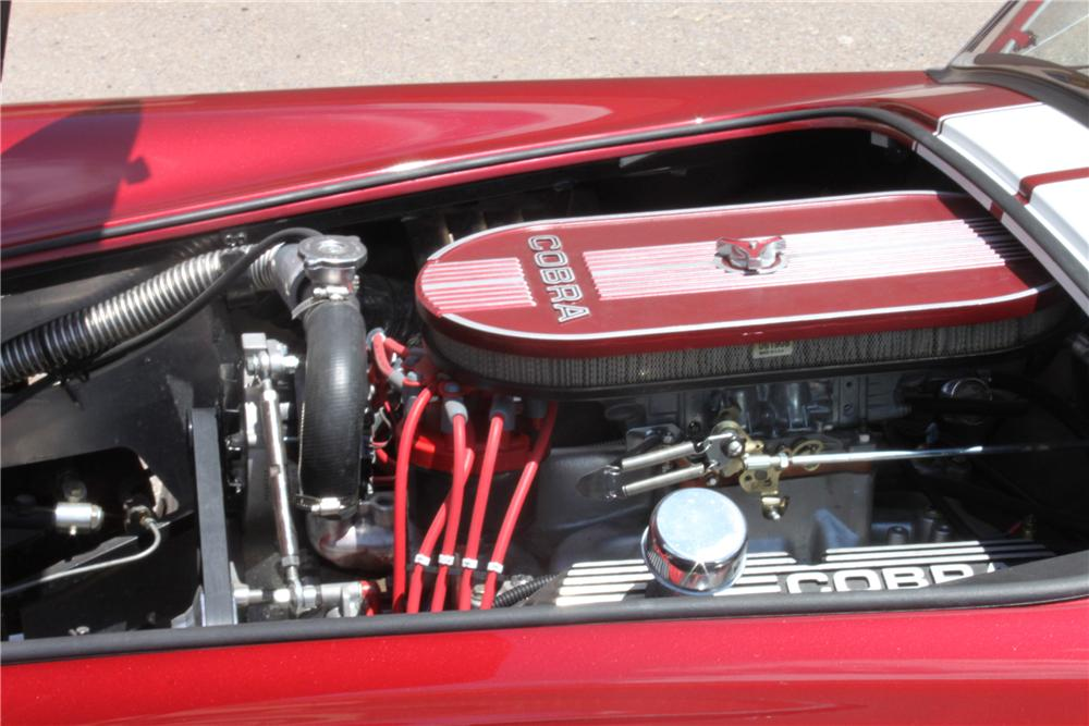 1965 SHELBY COBRA RE-CREATION ROADSTER - Engine - 133039