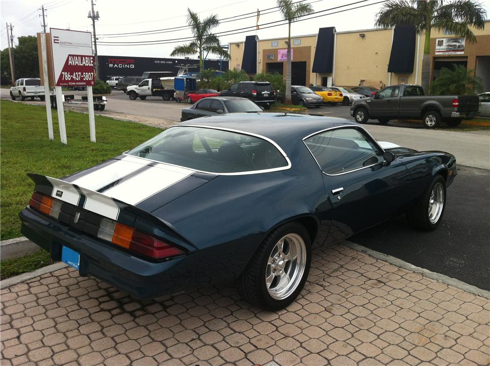1980 CHEVROLET CAMARO 2 DOOR COUPE - Rear 3/4 - 133042