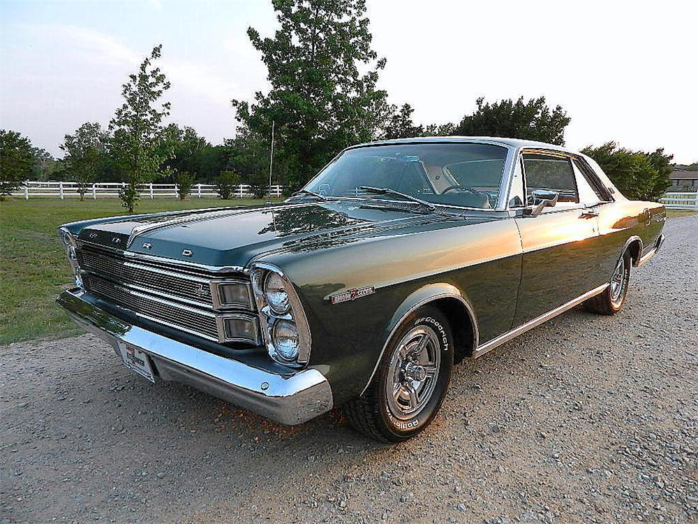 1966 FORD GALAXIE 500 XL 2 DOOR COUPE - Front 3/4 - 133056