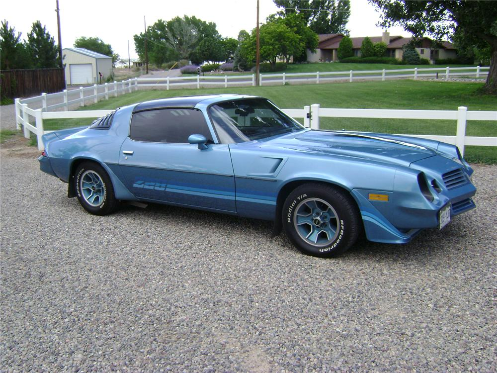 1980 CHEVROLET CAMARO Z/28 2 DOOR COUPE - Front 3/4 - 133068