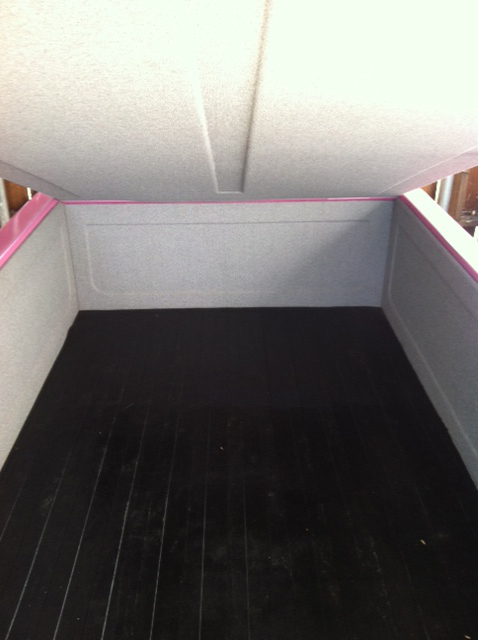 1999 SPECIAL CONSTRUCTION UTILITY TRAILER - Interior - 133075