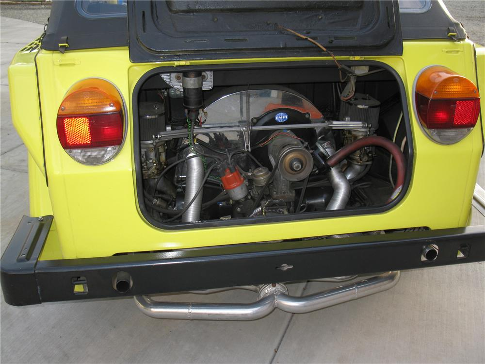 1974 VOLKSWAGEN THING CUSTOM CONVERTIBLE - Engine - 133078