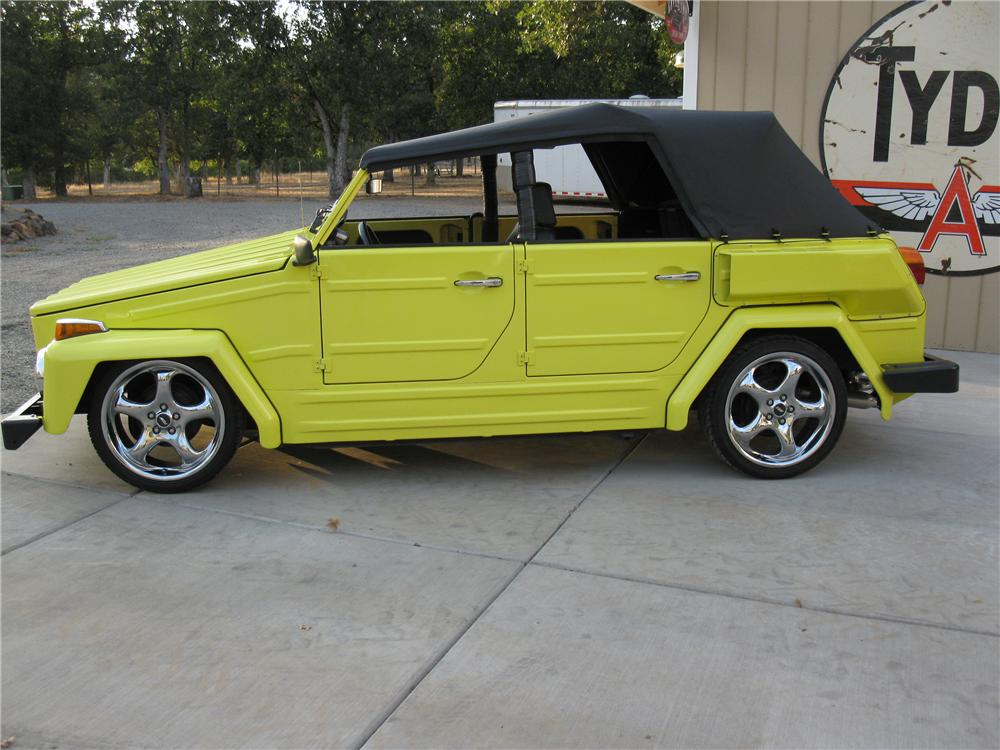 1974 VOLKSWAGEN THING CUSTOM CONVERTIBLE - Side Profile - 133078